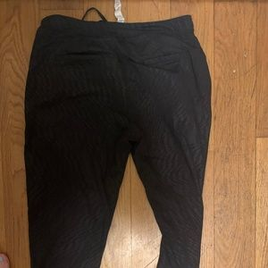 Lululemon Black Sweat Pants